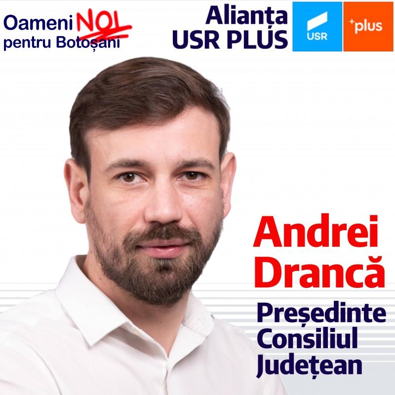 (P) Andrei Drancă, Candidat al Alianței USR PLUS la președinția Consiliului Județean Botoșani: Fondurile Europene, viziunea oamenilor noi și neștiința vechilor politicieni