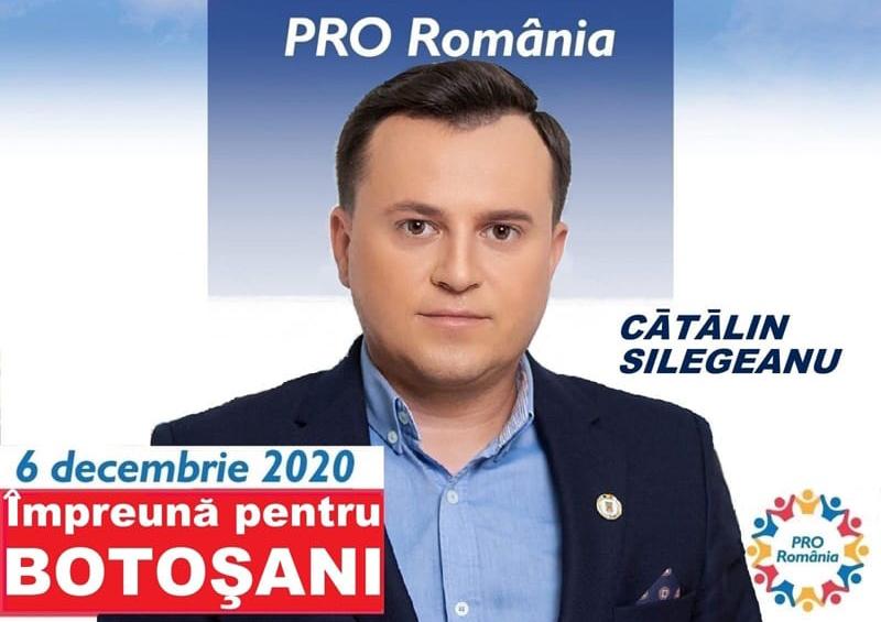 (P) Cătălin Silegeanu, candidatul PRO România pentru Camera Deputaților: Votează pentru tine. Votează Pro România