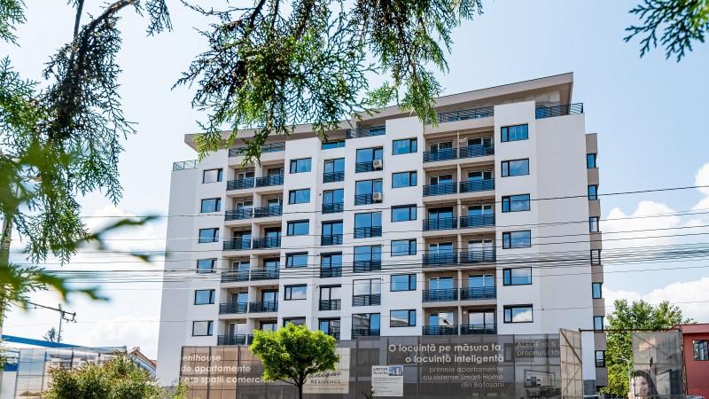 (P) Clădire UNIQUE Residence, reprezentativă pentru standardele de siguranță, în faza finală de execuție