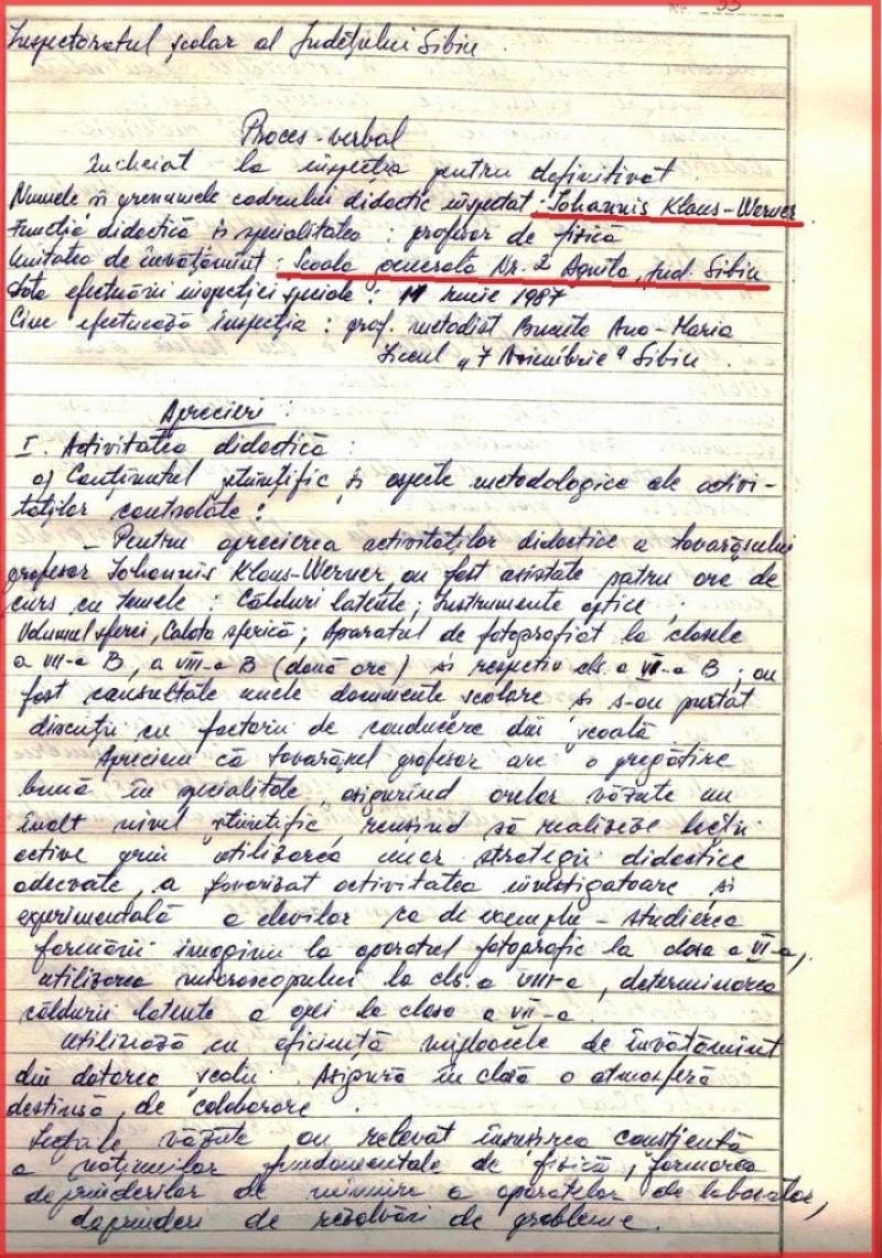 """(P) Comunicat PSD. Botoșănenii merită să fie informați: """"Candidatul PNL, anticomunistul Iohannis îndoctrina copiii la școală cu ideologia comunistă în 1987"""""""