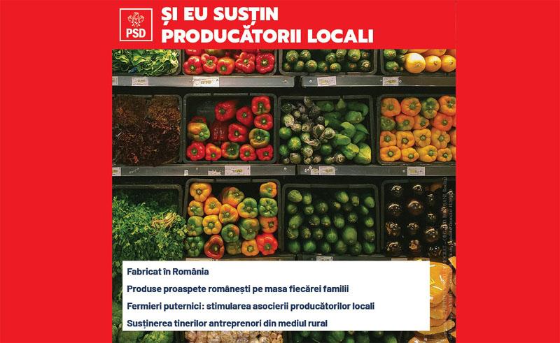 (P) Lucian Trufin: Guvernarea PSD este singura salvare a producătorilor și fermierilor noștri, este siguranța produselor sănătoase de pe masa românilor!