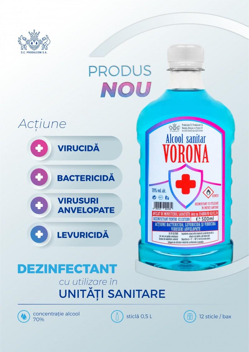 (P) Prodalcom face un rebranding la alcoolul sanitar, atât în ceea ce privește calitatea cât și în design