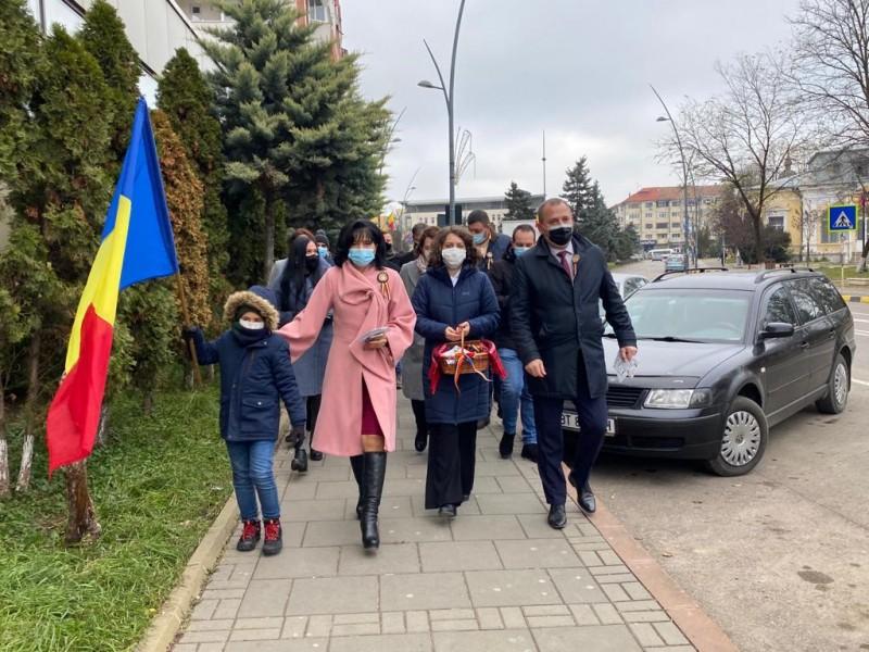 (P) PSD Botoșani: 1 Decembrie alături de botoșăneni (fotogalerie)