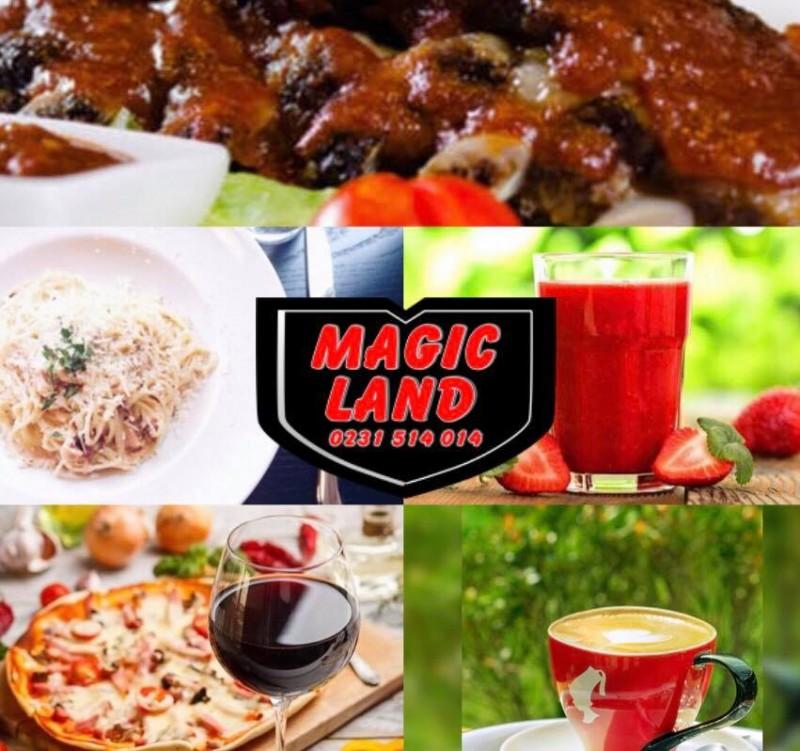 (P) Restaurantul-Pizzerie Magic Land anunță programul de Sărbători 2020