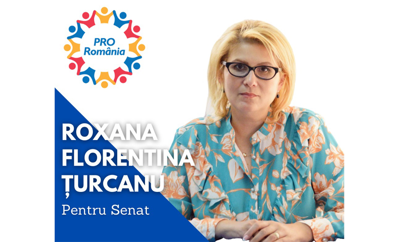 (P) Roxana Florentina Țurcanu, candidatul PRO România pentru Senatul României: Începutul anului viitor se anunță cu reduceri salariale de 20%!