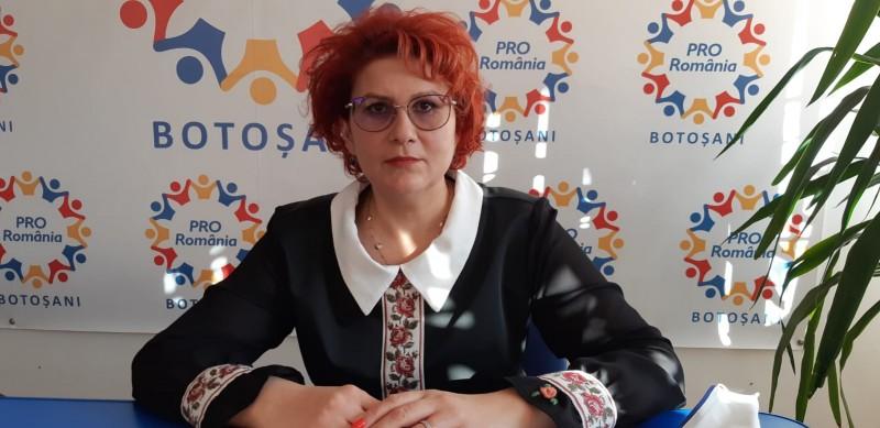 (P) Roxana Florentina Țurcanu, candidatul PRO România pentru Senatul României: Vă îndemn, dragi botoșăneni, să mergeți la vot pe 6 decembrie și să votați PRO România