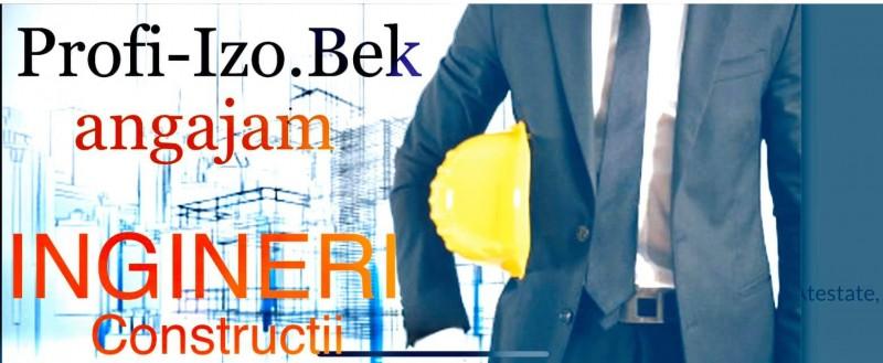 (P) Societatea de construcții Profi Izo.Bek din Botoșani caută ingineri