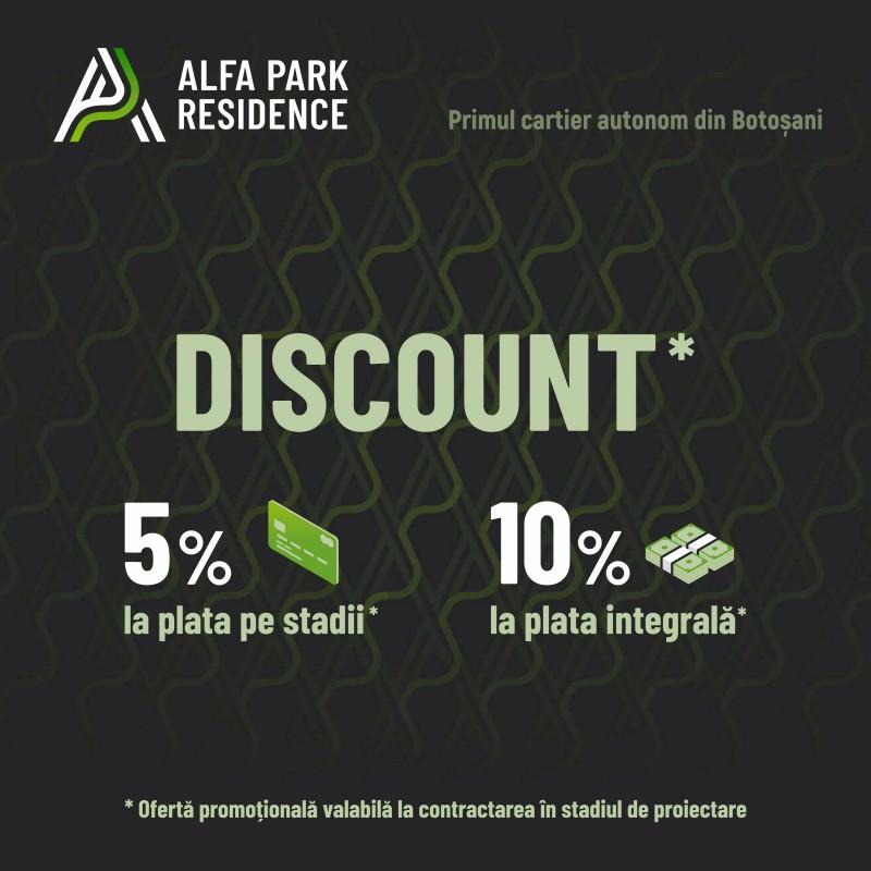 (P) Verde pentru Alfa Park Residence - primul cartier autonom din Botoșani