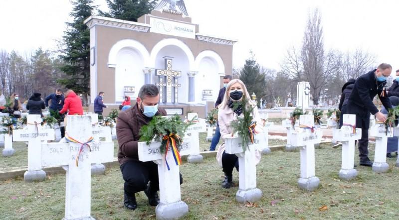 (P) Ziua de 1 Decembrie, ziua dedicată tuturor românilor, nu a trecut neobservată, în actualul context epidemiologic