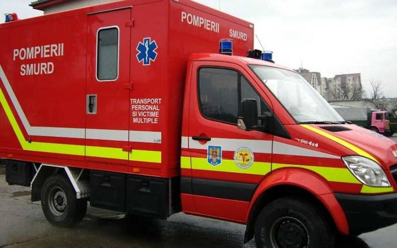 Pacientă adusă de la Dorohoi cu Autospeciala de Transport Victime Multiple!