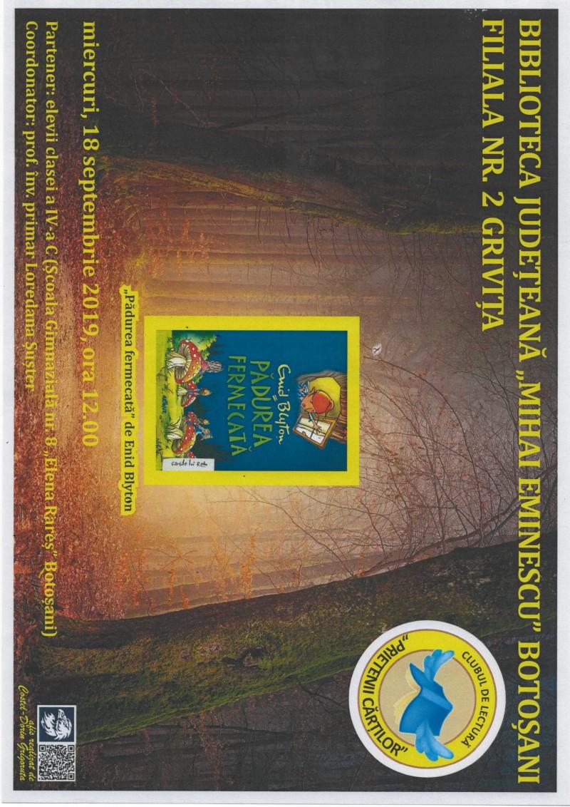 """""""Pădurea fermecată"""", deslușită de copii de clasa a IV-a, la Biblioteca Județeană"""