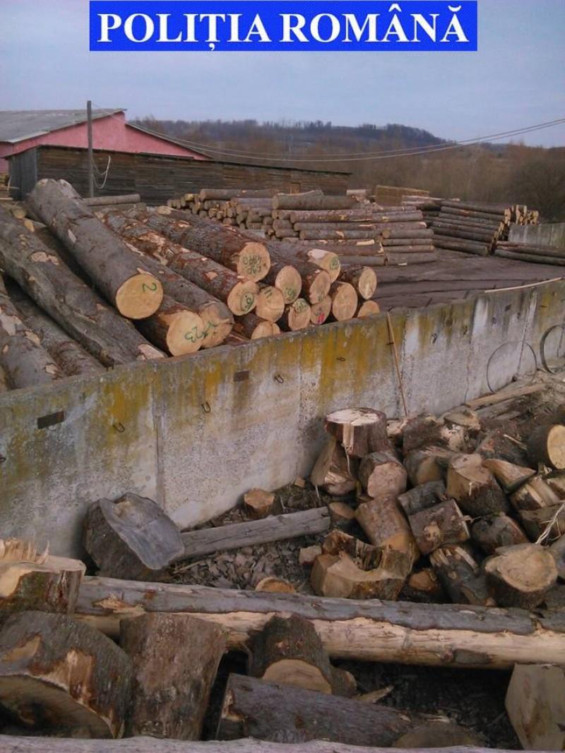Pagubă mai mare decât marfa pe care voia să o vândă: Polițiștii i-au confiscat lemnul, dar și mașina!