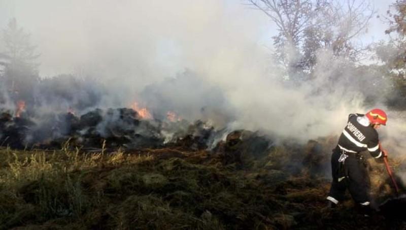 Pagube de 17.000 lei în urma incendiului de ieri seară de la Corlăteni!