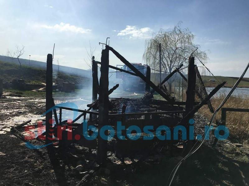 Pagube de 80.000 de lei în urma unor incendii, în a treia zi de Paști!