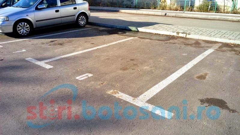 Cât va fi taxa pentru rezervarea locului de parcare în municipiul Botoşani, de la 1 ianuarie!