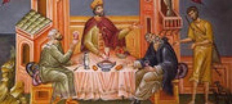 Parintele Constantin Galeriu - Bogatul nemilostiv si saracul Lazar