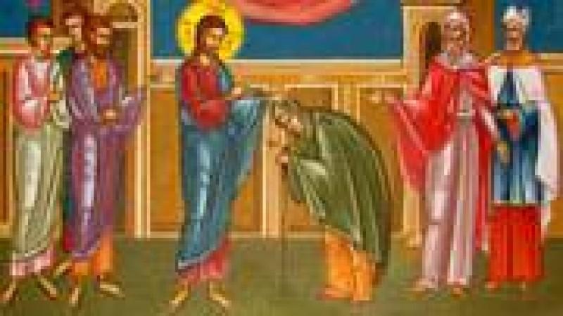 Parintele Galeriu: Tamaduirea femeii garbove