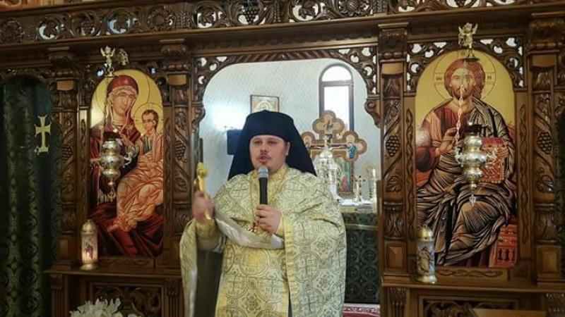 Părintele Hristofor Abălașei a fost condus pe ultimul drum. A murit la doar 31 de ani!