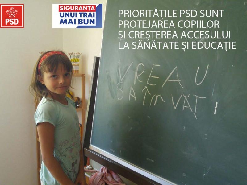 Parlamentarii PSD Botoșani au votat legile prin care toți copiii vor avea acces la servicii de sănătate, educație și protecție socială, iar profesorii vor avea stimulent de risc pentru COVID