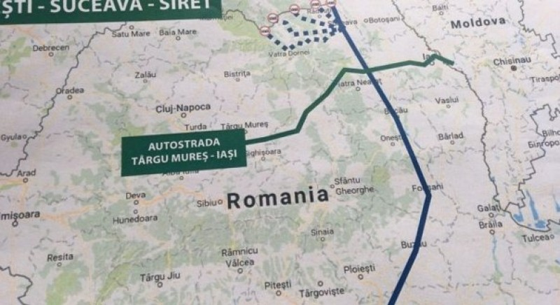 Parteneriat public-privat pentru proiectul autostrazii Tg. Neamt - Iasi - Ungheni