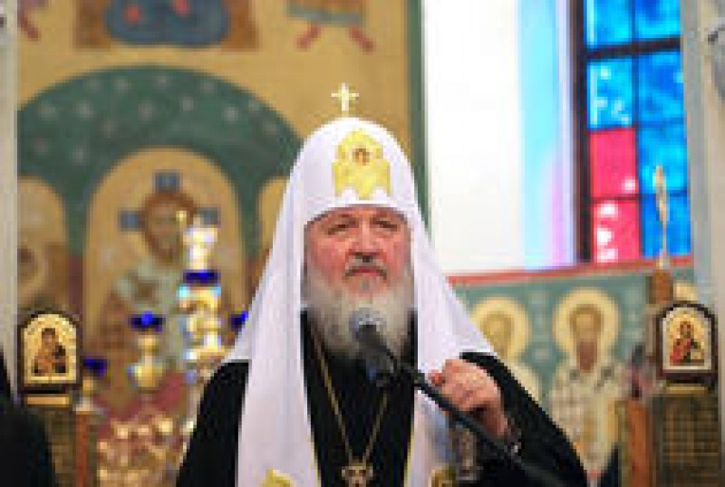 Patriarhul Kirill: Trebuie sa fii orb ca sa nu vezi apropierea unor momente teribile ale istoriei!