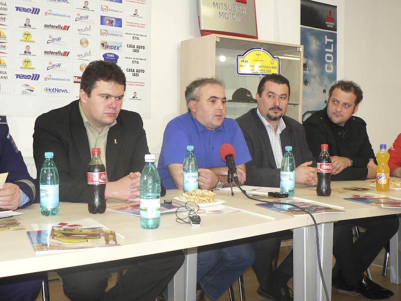 Patru echipaje din Botosani la Campionatul National de Rally Sprint