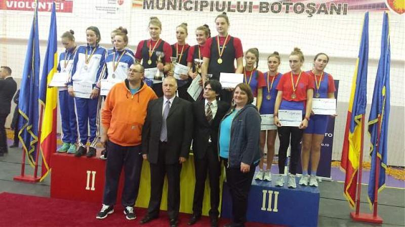 Patru medalii cucerite de canotorii botosaneni la Campionatul National - ergometru