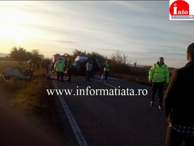 Patru morti si cinci raniti in stare grava, in urma unui accident rutier in Suceava. Un preot, printre cei decedati!