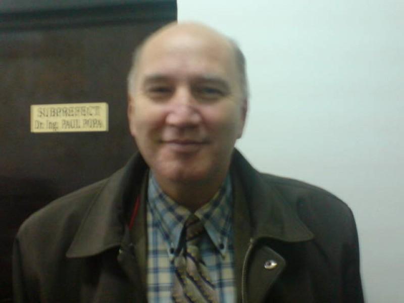 Paul Popa, eliberat din functia de subprefect de Botosani