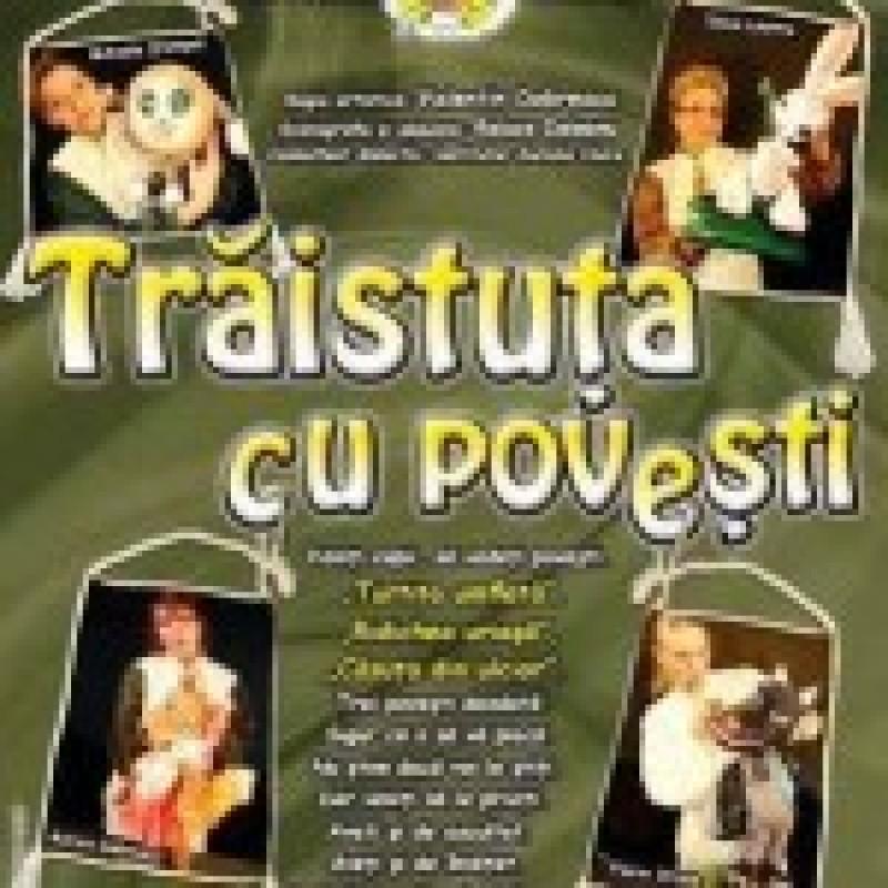 """Pe 1 Iunie, Teatrul Vasilache duce """"Traistuta cu povesti"""" in mijlocul copiilor!"""