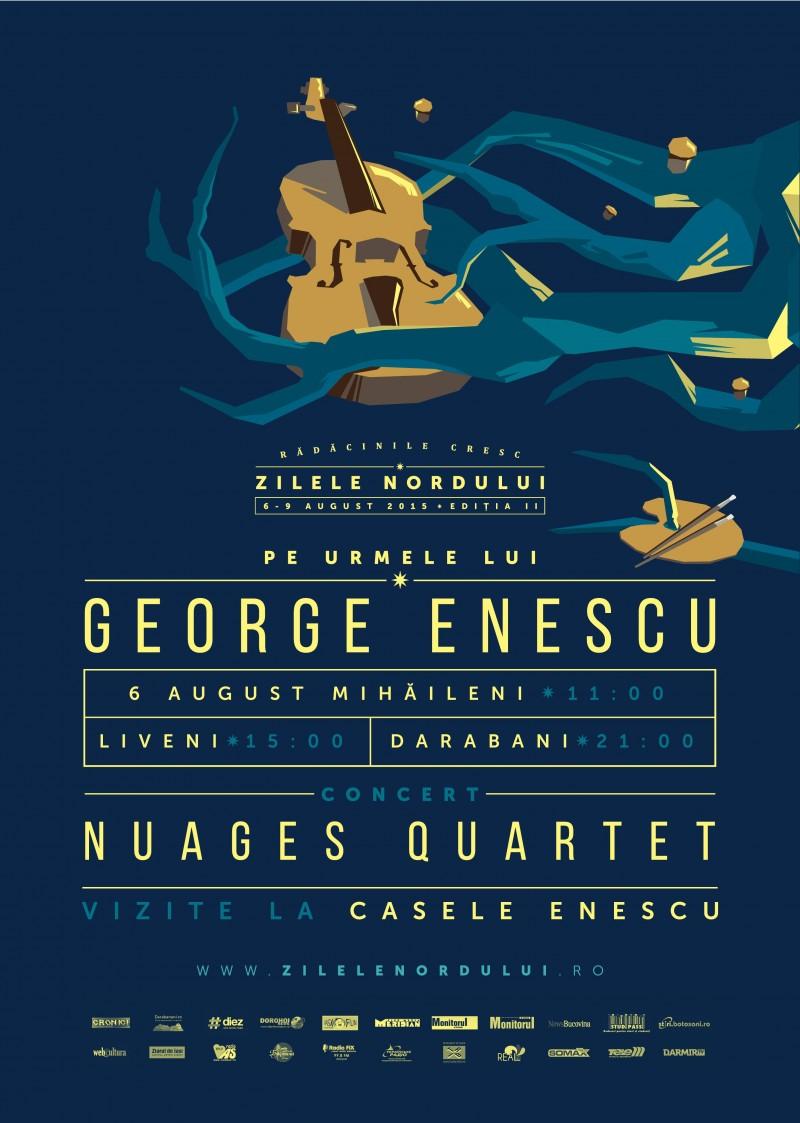Pe urmele lui Enescu la Zilele Nordului