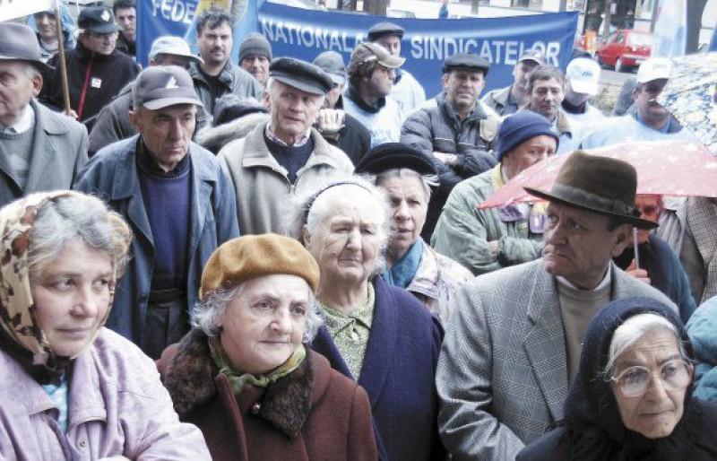 Pensia medie în Botoșani, cea mai mică din România!