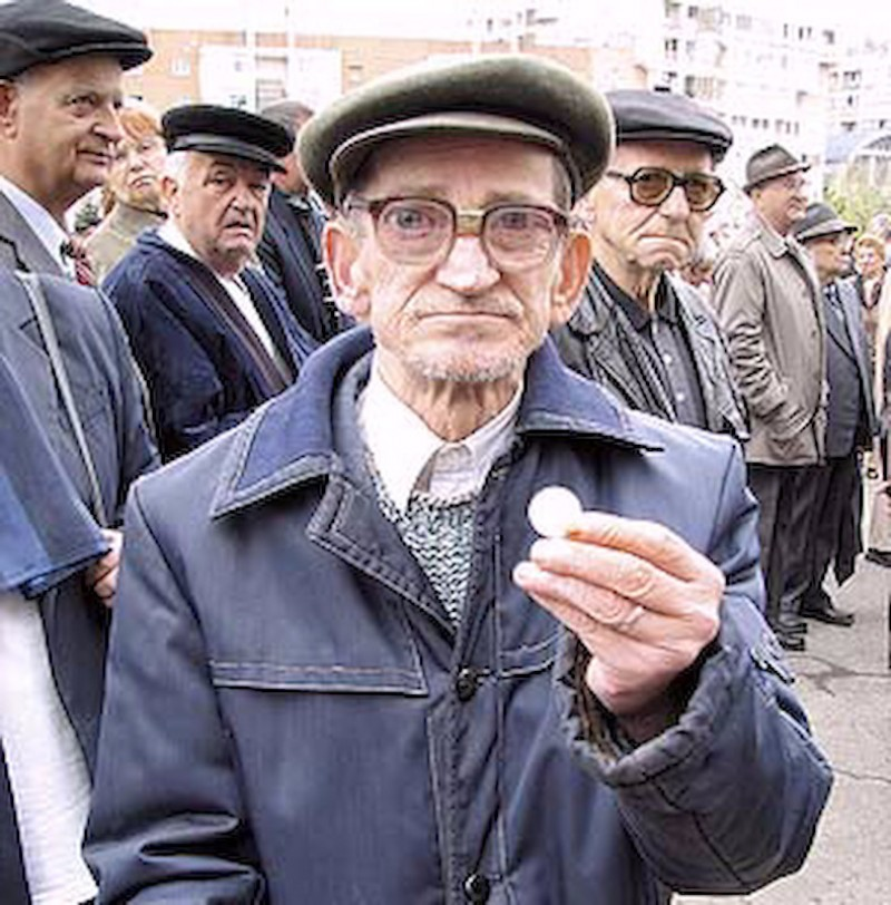 Pensionarii, cea mai buna moneda de schimb electorala!