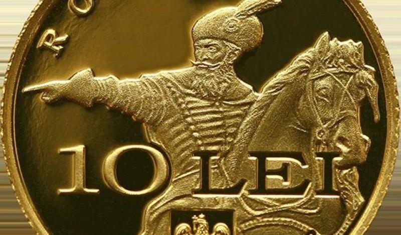 Pentru colecționari: BNR lansează o monedă din aur cu tema ''Istoria aurului'' şi o bancnotă aniversară