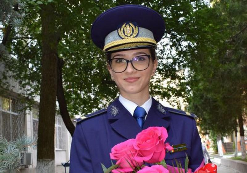 Pentru prima dată în istoria de aproape 124 de ani: O botoșăneancă este șefa de promoție a Școlii Militare de Maiștri Militari a Forțelor Navale din România