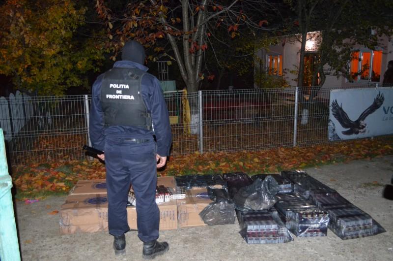 Percheziţii la Botoșani, pentru destructurarea unui grup infracțional organizat, specializat în contrabanda cu țigări!