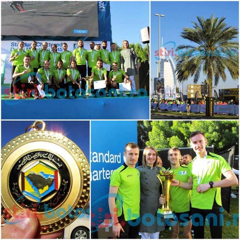 PERFORMANTA IN DUBAI! Alexandru Corneschi, baiatul de aur din Emiratele Arabe Unite! Peste 8.000 de sportivi la cursa de 10 km! GALERIE FOTO, VIDEO