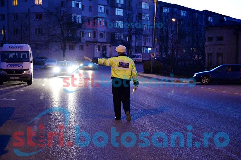 Pericol în trafic! Şoferi băuţi, opriţi de poliţişti înainte de a produce nenorociri