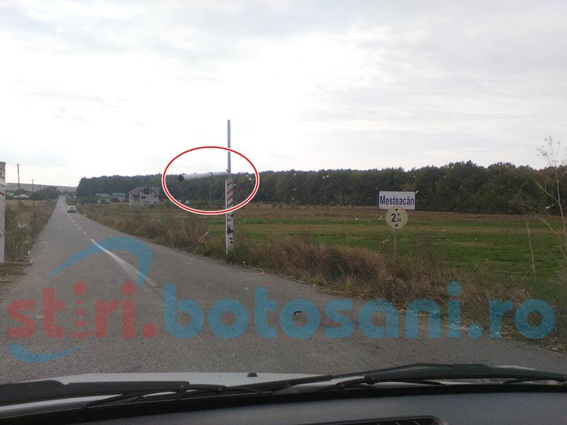 Pericol pentru șoferi pe un drum din județul Botoșani!