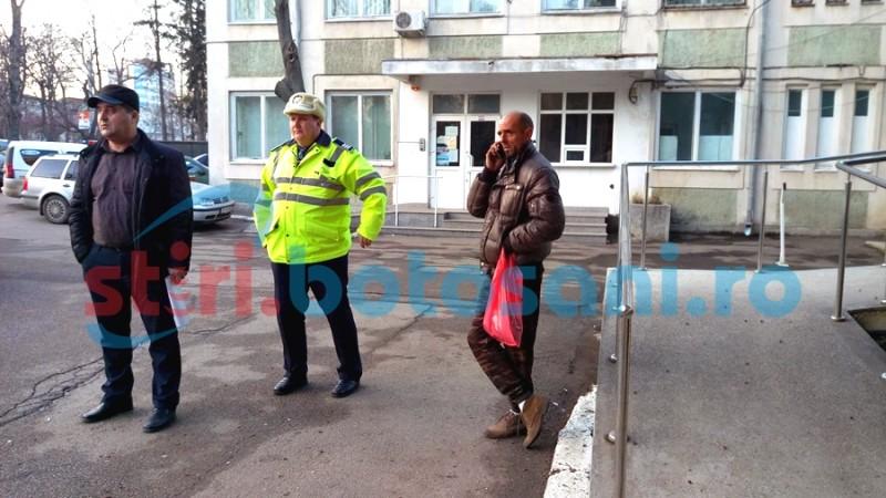 Șofer-pericol public reținut de polițiștii botoșăneni, după ce a făcut scandal în trafic! FOTO