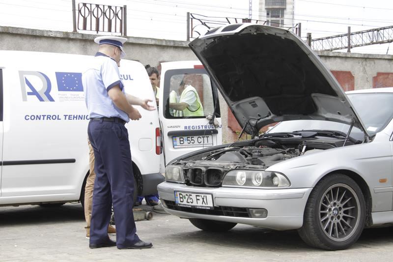 PERICOL! Zeci de maşini depistate pe şoselele din judeţ cu defecţiuni majore la sistemul de frânare!