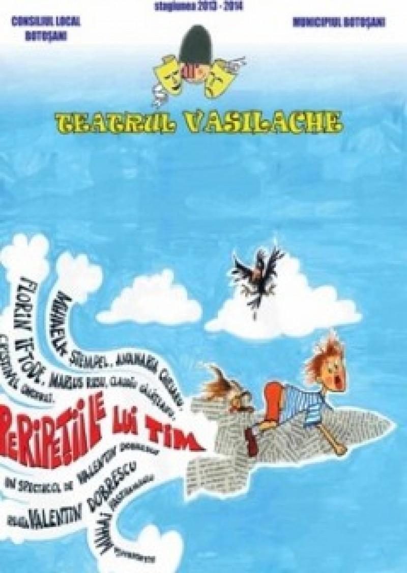 """Peripeţiile lui Tim, la Teatrul """"Vasilache"""""""