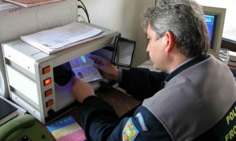 Un permis de conducere fals, emis în Rusia, descoperit la controlul de frontieră!