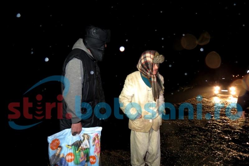 Persoane fără adăpost cazate în clădirea unei unități de învățământ din Botoșani