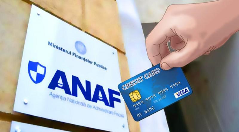 Persoanele înregistrate în Spațiul Privat Virtual pot face plata obligațiilor fiscale la buget direct cu cardul bancar