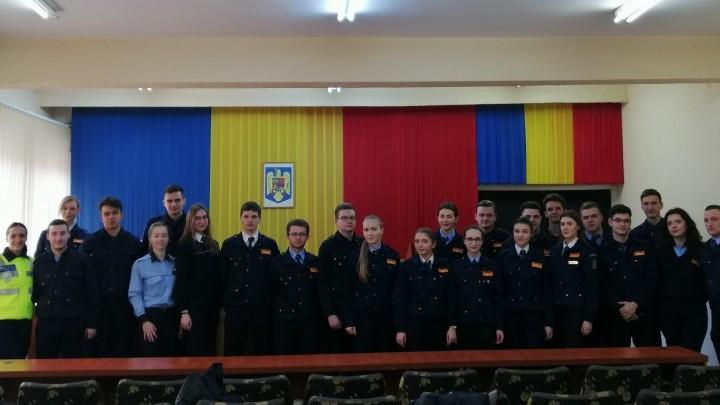 Peste 20 de studenți desfășoară un stagiu de practică la Inspectoratul de Poliție Județean din Botoșani