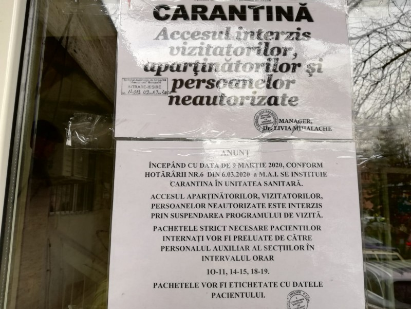 Peste 400 de botoșăneni aflați în carantină
