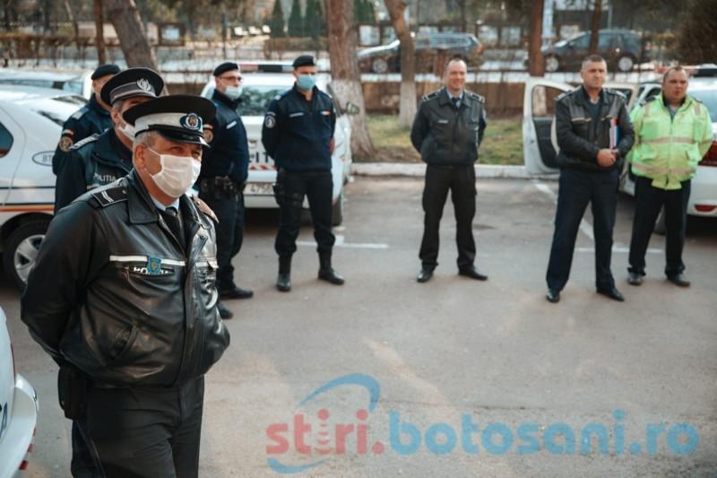 Peste 600 de polițiști vor acționa în acest weekend în Botoșani