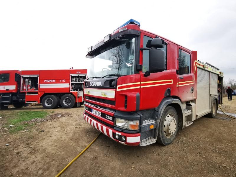 Peste 90 misiuni de salvare în patru zile îndeplinite de către pompierii botoșăneni