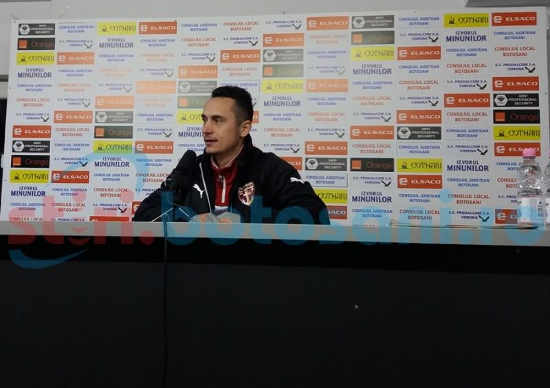 """Petre Ivanovici: """"Am avut noroc şi am luat cele trei puncte"""""""